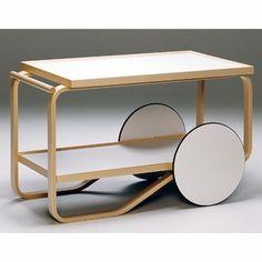 Artek Alvar Aalto - Tea Cart 901 - Click to enlarge