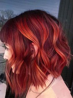 If you still are browsing for latest hair color trends to show off on your special occasions then you must try the amazing red balayage hair colors for short to medium haircuts given here for 2020.