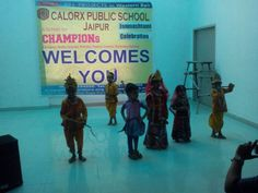 Janmasthmi celebration at CPS - Jaipur.
