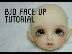gorgeous bjd faceup tutorial