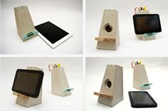 http://www.ireado.com/creative-and-dynamic-diy-concrete-patio/?preview=true Creative And Dynamic, DIY Concrete Patio : Concrete Ipad Stand Diy Concrete Patio