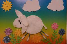 Creative Kids Craft Ideas with Cotton Pads | www.FabArtDIY.com LIKE Us on Facebook ==> https://www.facebook.com/FabArtDIY