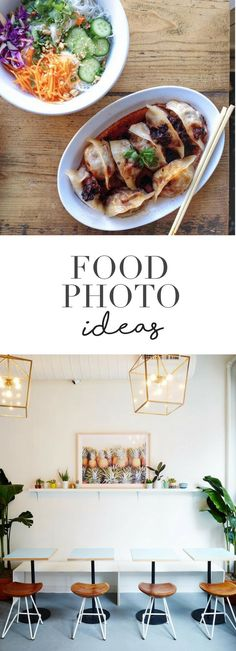 FOOD PHOTO IDEAS - chachamatcha, mimi chengs, seamores casual restaurant, food styling, food photo tips, instagram, food photography - This street could possibly be the most famous food strip in the world! I can't believe how gorgeous these photos look!