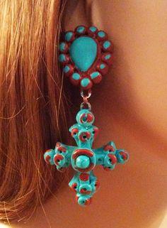 "New from Maverick Rose Jewelry, ""Conchita"" earrings - www.maverickrose.com"