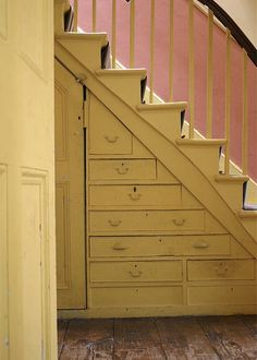 Basement on Pinterest Stair Storage Under Stairs and Stairs