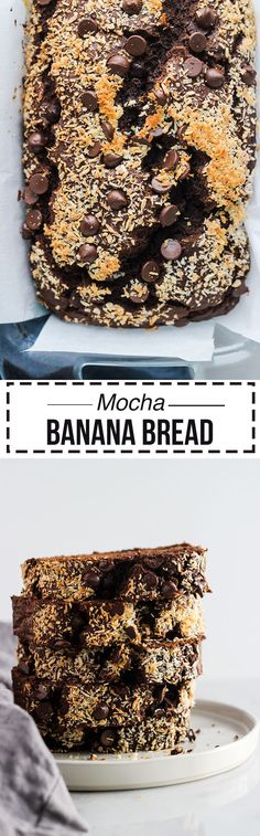 Mocha Banana Bread |