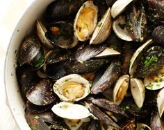 Mussels and Clam Triestina