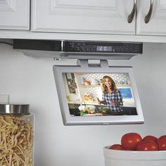 10 Best Under Cabinet Tv Ideas Under Cabinet Tv Under Cabinet Tv In Kitchen