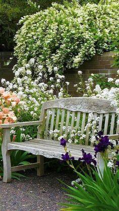 Outdoor Plants, Outdoor Gardens, Outdoor Decor, Outdoor Seating, Manor Garden, Garden Cottage, Back Gardens, Vertical Gardens, Garden Nursery