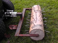 DIY Lawn Aerator DIY projects for everyone! is part of Diy lawn -