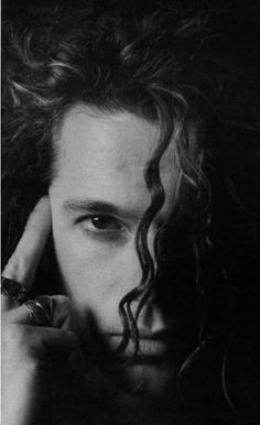 Michael Hutchence INXS.  Debatable to put them on the rock 'n roll board (I'd say more pop rock) but dang, I loved him. Incredibly charismatic and sexy.