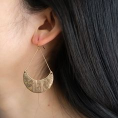 Tribal Vintage Drop Earrings Delicate Silver/Brassy Drop | Etsy Antique Earrings, Boho Earrings, Statement Earrings, Drop Earrings, Tribal Fashion, Boho Fashion, Golden Earrings, Vintage Designs, Piercings
