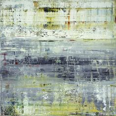 Gerhard Richter - Abstract paintings, Cage (2), 2006, 300 x 300 cm,