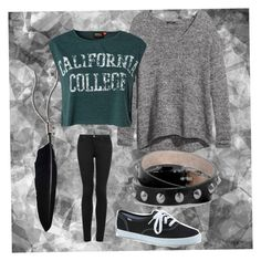 California College by callerholm-f on Polyvore featuring polyvore, fashion, style, H&M, ONLY, Topshop, Keds, Alexander McQueen and Ann Demeulemeester