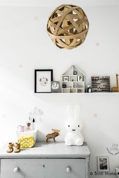 The miffy lamp Baby Decor, Kids Decor, Inspirations Boards, Grey Girls Rooms, Deco Kids, Bright Homes, Kids Corner, Kid Spaces, Bedroom Decor