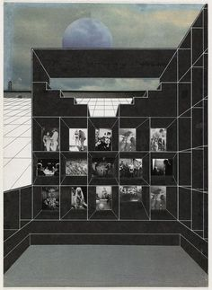 Rem Koolhaas, Madelon Vriesendorp, Elia et Zoe Zenghelis, Exodus or the Voluntary Prisoners of Architecture, 1972. The Museum of Modern Art, New York/Scala, Florence: