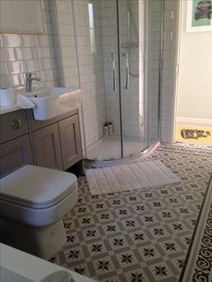 Fired Earth Patisserie Sucre tiles, white metro tiles, Roper Rhodes Burford…