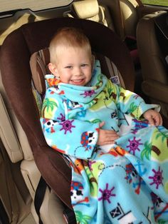 Safe, warm toddler car seat cover.  First of its kind!