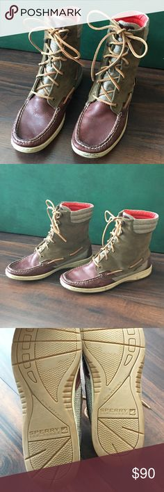 Sperry Top-Sider | Boots These boots are amazing!!! One of my all-time favorite pairs. Unfortunately I'm a true 10 and these are a half size too small for me. 😭 Hope someone snatches these beauties up! Sperry Top-Sider Shoes Winter & Rain Boots