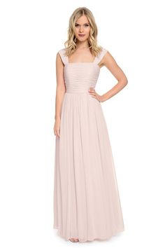 Shop Dove & Dahlia Bridesmaid Dress - Lydia in Poly Chiffon at Weddington Way. Find the perfect made-to-order bridesmaid dresses for your bridal party in your favorite color, style and fabric at Weddington Way.