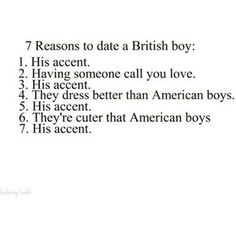 7 reasons to date a British boy :)