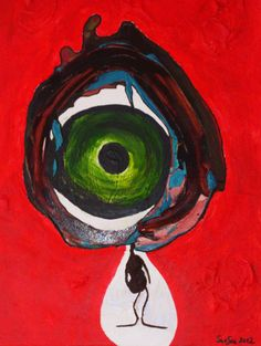 grosser bruder Red, Painting, Photography, Brother, Painting Art, Art, Paintings, Paint, Draw