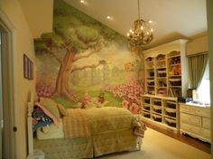 Adorable little girls room :)