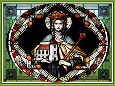 Amada santa Eduviges, gloriosísima patrona de los afligidos, bendita protectora de los que no tenemos casa propia y estamos llenos...