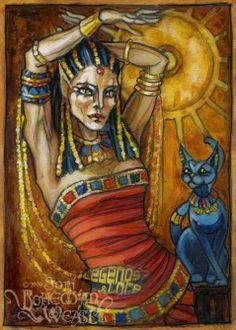 CAT GODEST | am Bast, cat goddess of Egypt. I am graceful, flexible, playful, and ...
