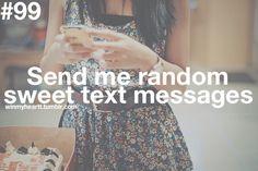 Cute texts!