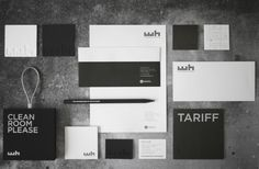 branding by foreign policy design for waterhouse hotel. simple. clean. unpretentious.