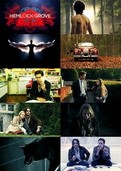 Hemlock Grove | Season 1. This show is seriously weird. And coming from me, that's big.