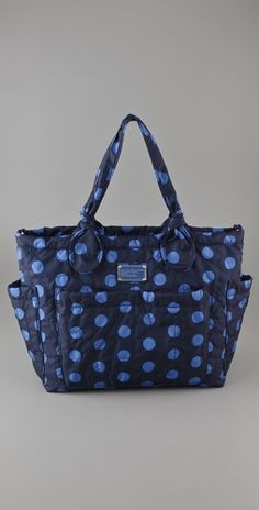 Marc by Marc Jacobs Pretty Nylon Printed Eliz-a-Baby Bag - StyleSays