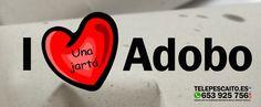 I ❤️ Adobo http://www.telepescaito.es #Sevilla
