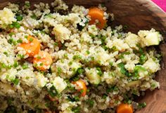 http://www.oprah.com/food/Quinoa-with-Vegetables-and-Herbs-Recipe Quinoa with Vegetables and Herbs Recipe - Oprah.com