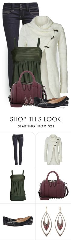 """Untitled #2173"" by sherri-leger ❤ liked on Polyvore featuring ONLY, Pilot, Alexander Wang, Nine West and Alexis Bittar"