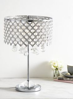 Chrome otto table lamp showhome pinterest desk lamp retro chrome petra table lamp mozeypictures Image collections