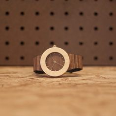 Earth tones. Wooden watch by analogwatchco.com #looklistenwatch
