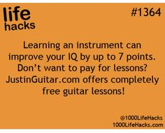 1000 life hacks is here to help you with the simple problems in life. Posting Life hacks daily to help you get through life slightly easier than the rest! Simple Life Hacks, Useful Life Hacks, Life Hacks Websites, Amazing Life Hacks, The More You Know, Good To Know, 1000 Lifehacks, Free Guitar Lessons, Music Lessons