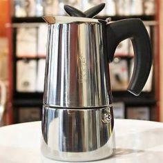 Bialetti Musa Coffee Percolator Stainless Steel Stovetop Maker Musa2