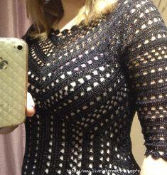 Hexágonos da Costa - vestido de crochê. Discussão sobre LiveInternet - Serviço russo diários on-line