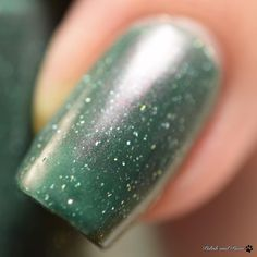 This is Sailor Pluto  Setsuna from the @lynbdesigns Be Your Own Princess Collection inspired by Sailor Moon. The full collection is on my blog PolishandPaws.com (link in bio.) . . #lynbdesigns #beyourownprincess #indieswatch #indiepolish411 #fbpolishpaws #prsample