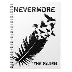 Black, Raven, Nevermore Notebook