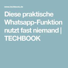Diese praktische Whatsapp-Funktion nutzt fast niemand | TECHBOOK
