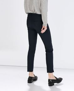 Image 4 of TROUSERS WITH SIDE ZIP from Zara