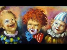 Farsangi polka  -  Gyermekdal Ronald Mcdonald, Disney Characters, Fictional Characters, Costumes, Disney Princess, Cats, Youtube, Painting, Clowns