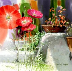 Shin Jong Sik ~ Korean Watercolor painter