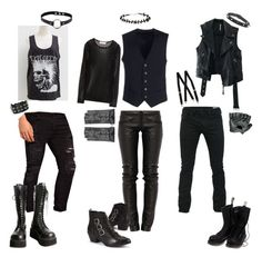 """""""Creepy Kids :Boys"""" by rstitch13 ❤ liked on Polyvore featuring Preen, Dockers, Tonello, Free People, ASOS, Demonia, Vegetarian Shoes, Emilio Pucci and Maison Fabre"""