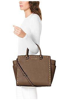 260c81a9c1a ... MICHAEL Michael Kors Large North South Selma Tote - Belk.com ...