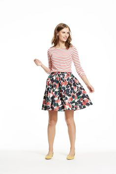 Our most twirl-worthy skirt. #Boden #springpreview